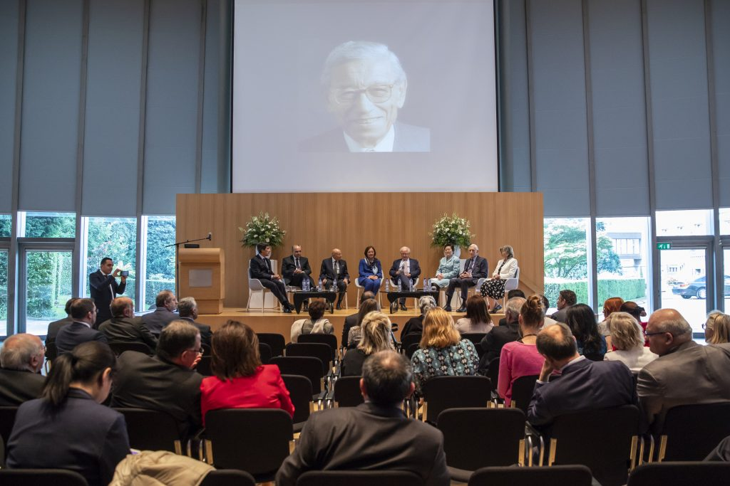 Opening of the Dr. Boutros-Ghali Commemoration at The Hague Academy of International Law June 21 2018