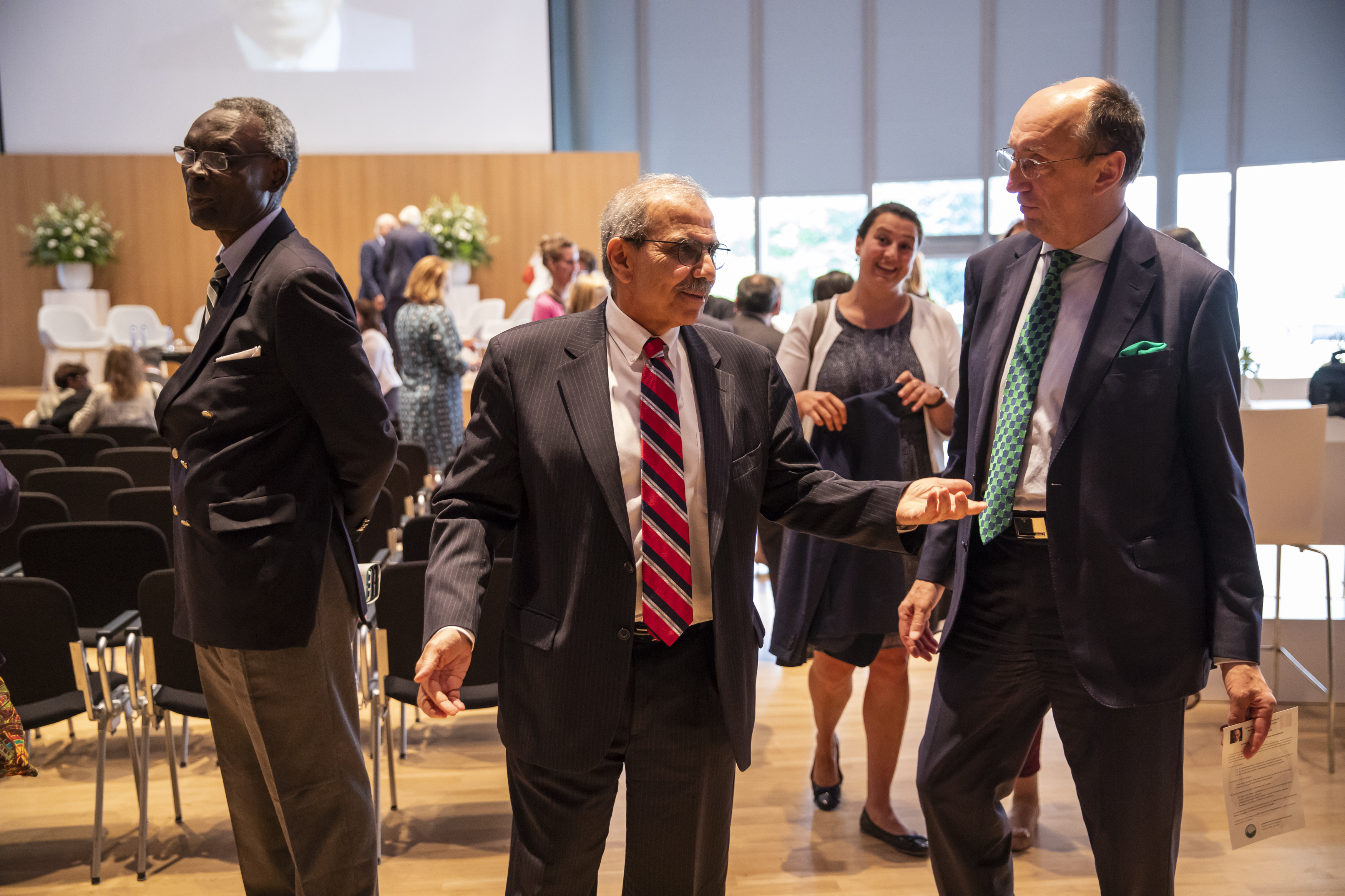 Dr. Boutros-Ghali Commemoration at The Hague Academy of International Law June 21 2018